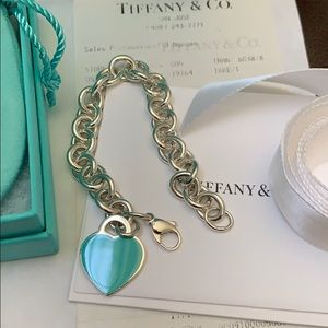 Tiffany & Co. Heart Tag Bracelet NEW